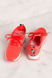 Priceless | Coral | Neon | Sneakers | Womens