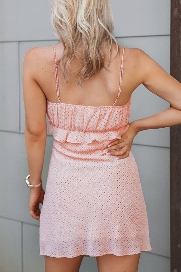Blush Floral Mini Dress