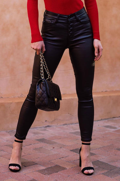 Salem Vegan Leather Pants