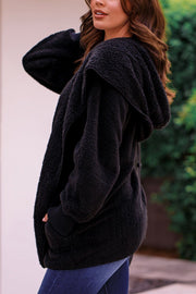 Black Fuzzy Jacket