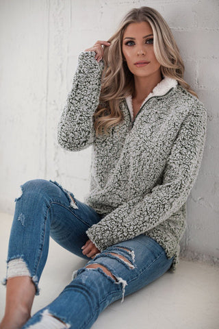 Love Poems Taupe Off The Shoulder Knit Sweater