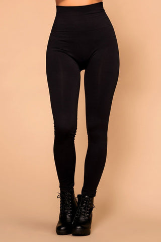 Sadie Ponte Pants - Black