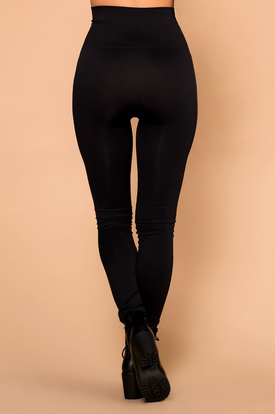 Priceless | Black | High Waisted Leggings | Womens