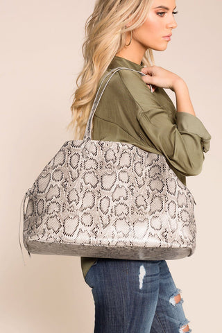 Superstition Back Pack in Silver