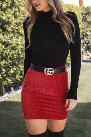 Charleston Ruby Turtleneck