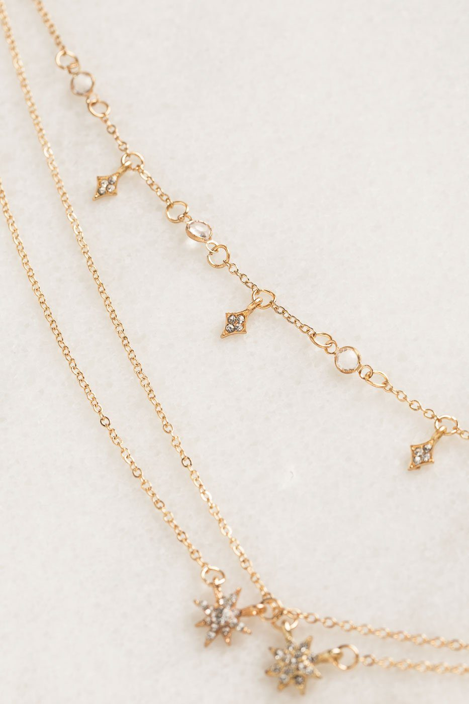 Priceless | Layered Necklace | Gold | Womens