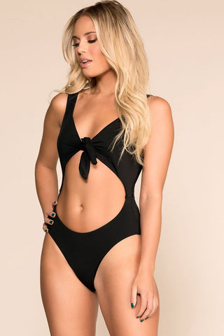 Fast Lane Striped Bodysuit