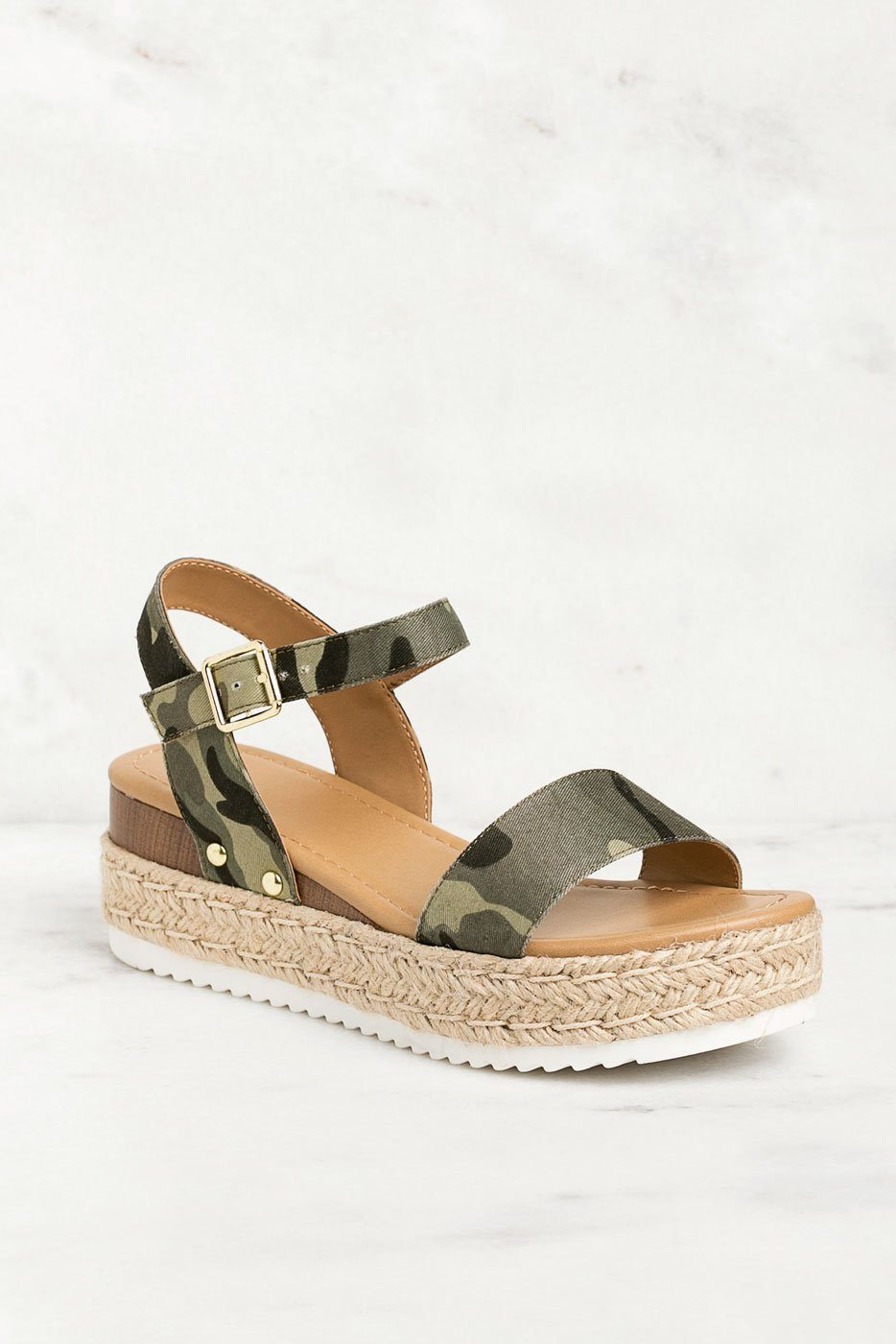 Sandals Walk It Camo Platform Off UzMpVqS