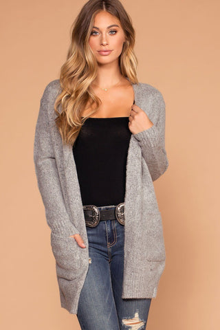 Perfect All Day Block Sweater Cardigan