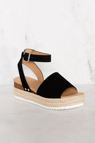 Terese Jelly Wedges - Black