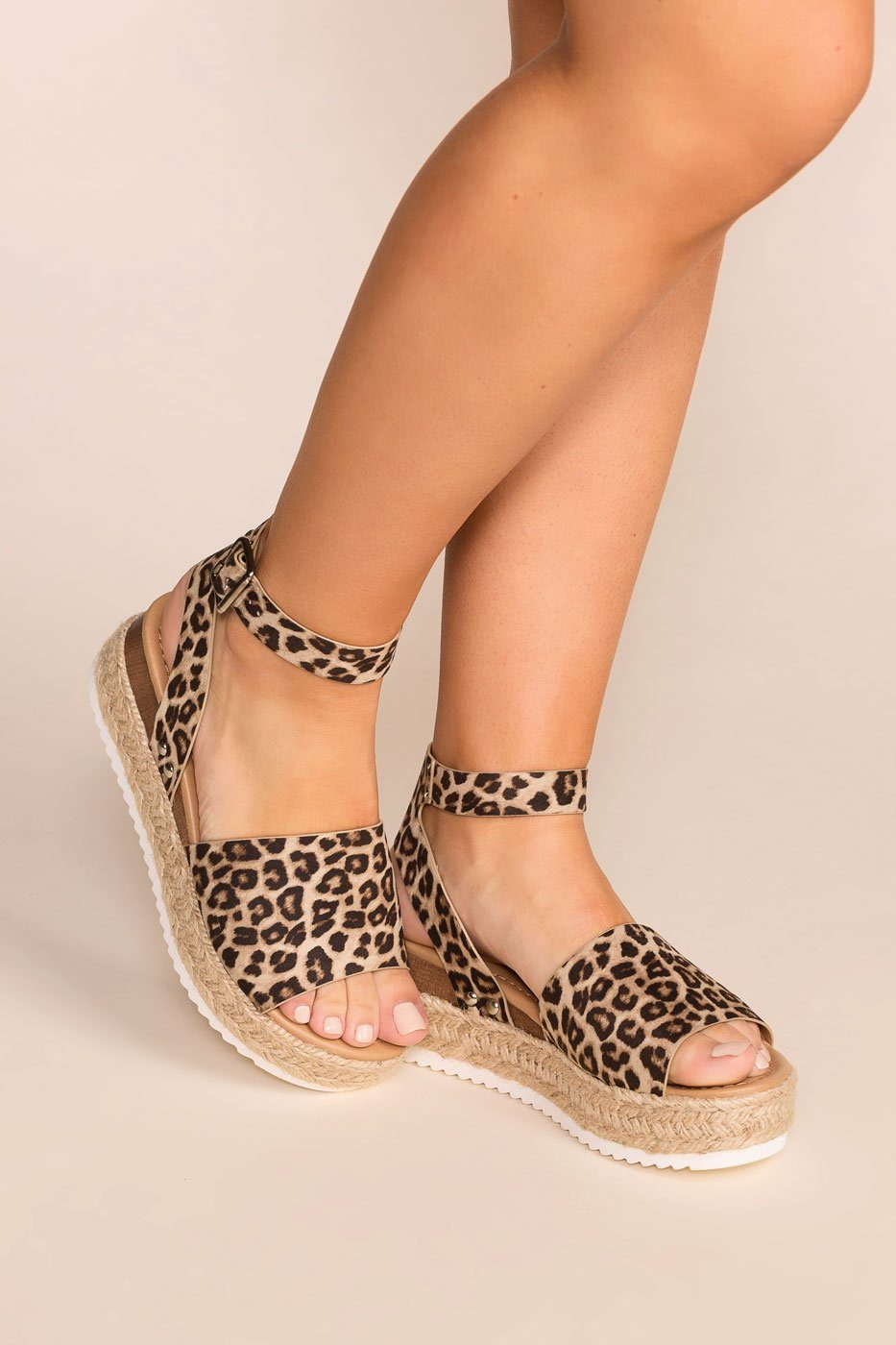 199ed589f0a42a Weekend Cheetah Platform Sandals