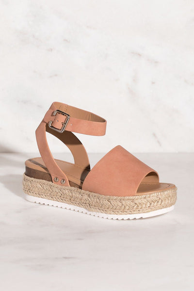Weekend Mauve Platform Sandals