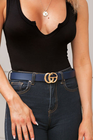 City Living Thin Tan Belt
