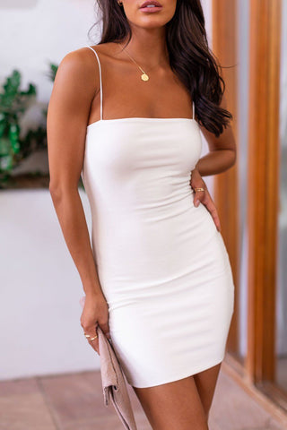 Sunday Afternoon White Mini Dress