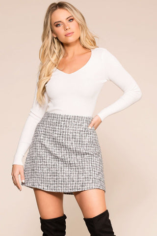 Patch It Up Denim Skirt