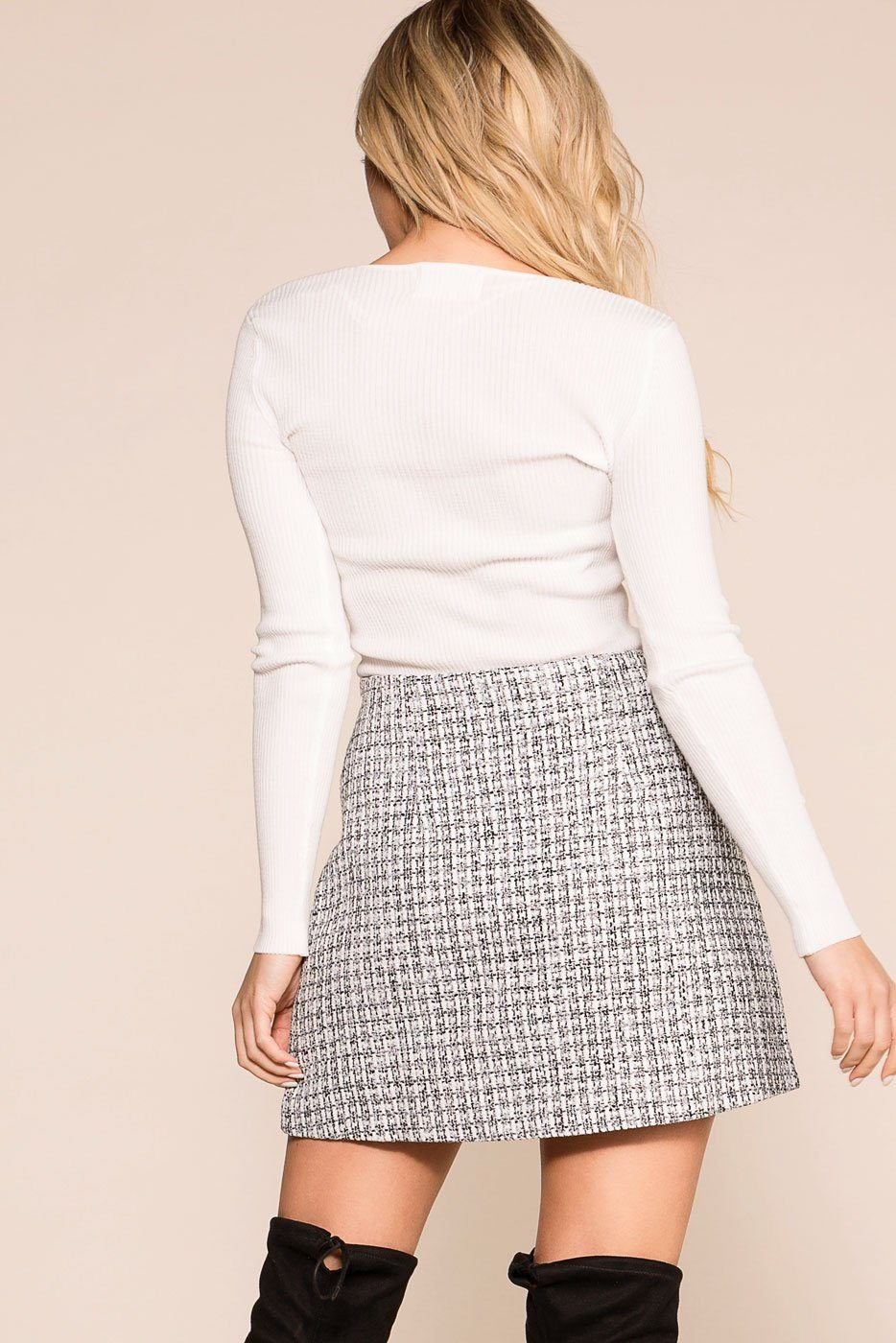 Your Best Life Grey Skirt | Storia