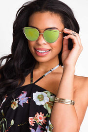 Accessories - Aria Sunglasses - Gold