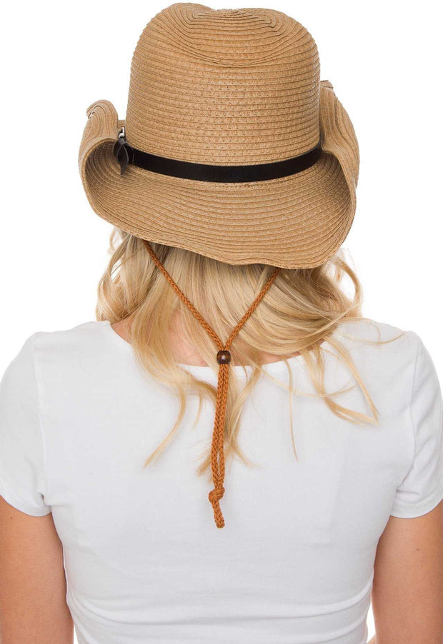 Accessories - Arizona Drawstring Hat - Tan