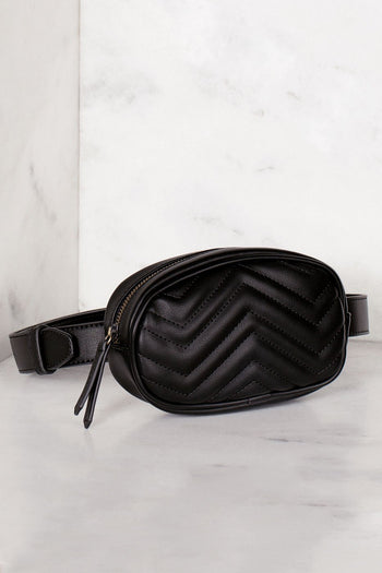 Accessories - Ashley Waist Bag - Black