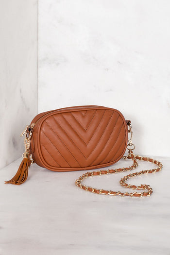 Accessories - Aster Crossbody Bag - Camel