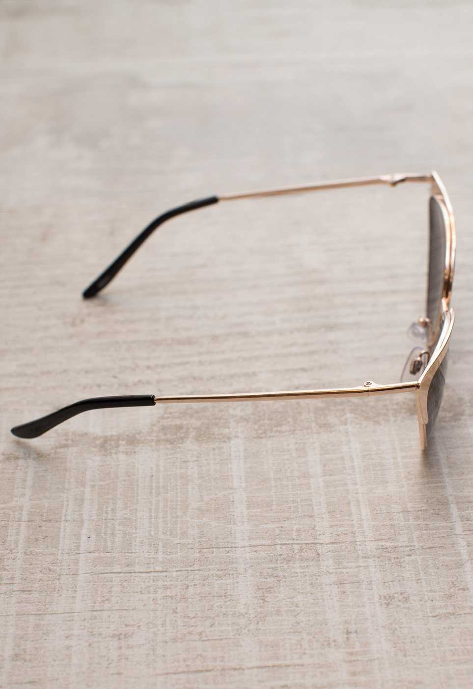 Accessories - Audina Sunglasses - Gold/Black