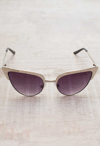Marty Sunglasses - Black/Purple