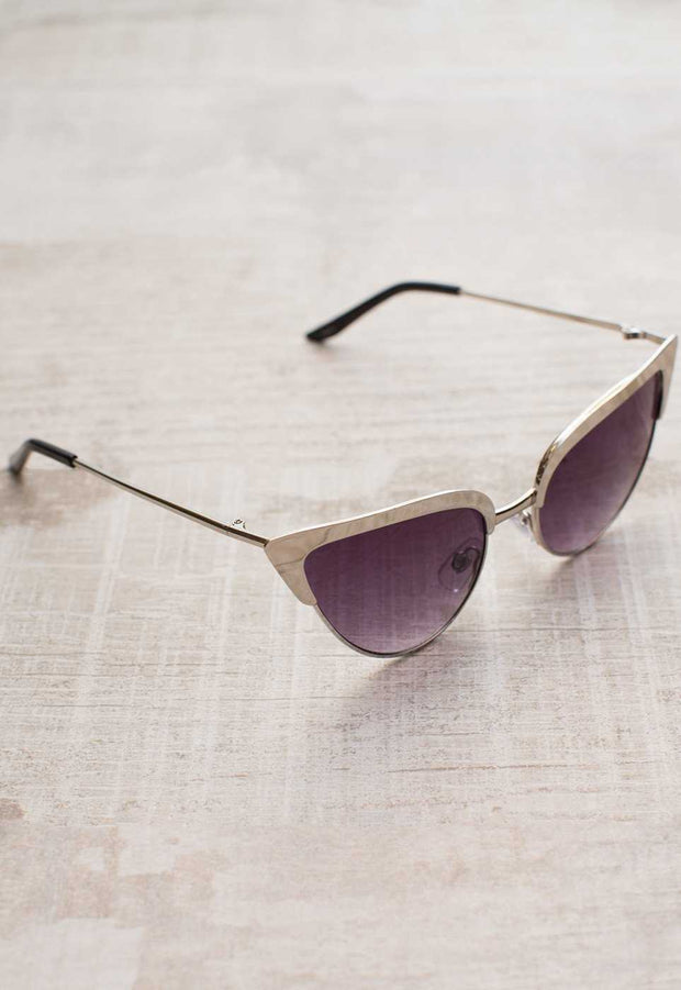 Accessories - Audina Sunglasses - Silver