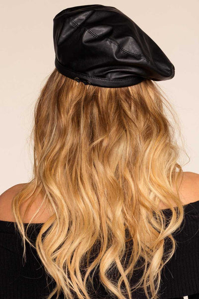 b2abbac18254d Bridget Leather Beret