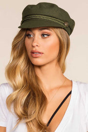 Accessories - Brix Fiddler Cap - Olive
