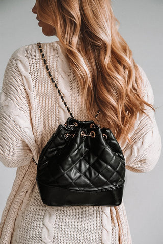 Forever Fringe Purse - Black