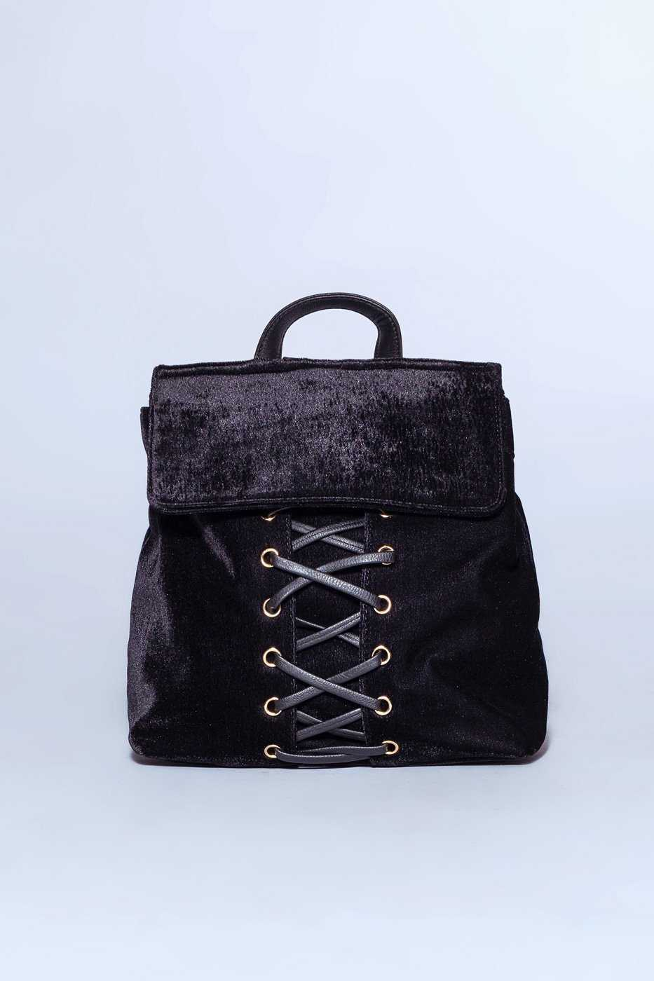 Accessories - Celeste Velvet Backpack