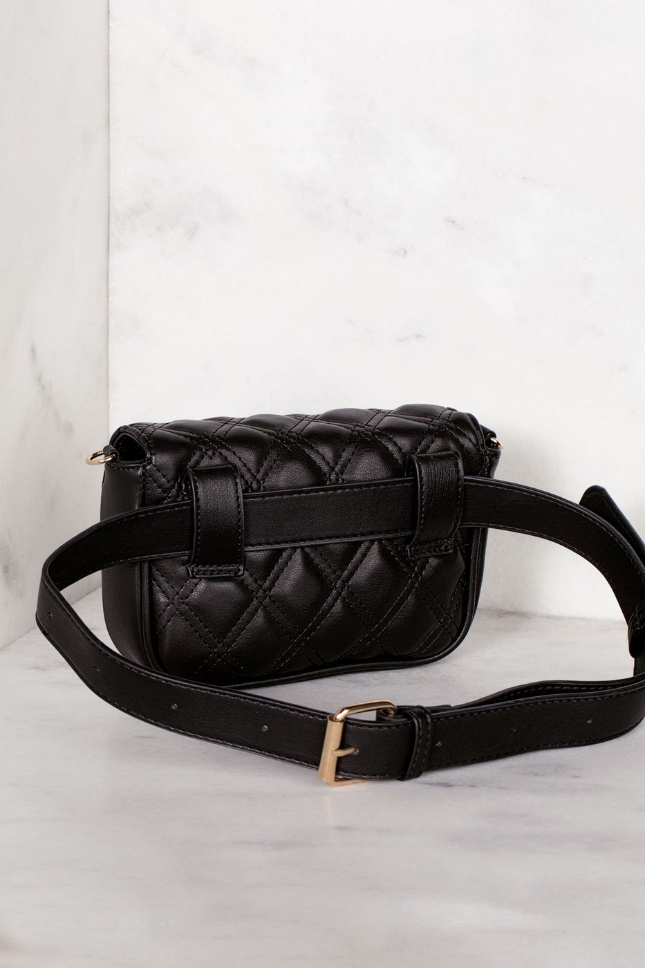 Accessories - Charlie Convertible Waist Belt Bag - Black