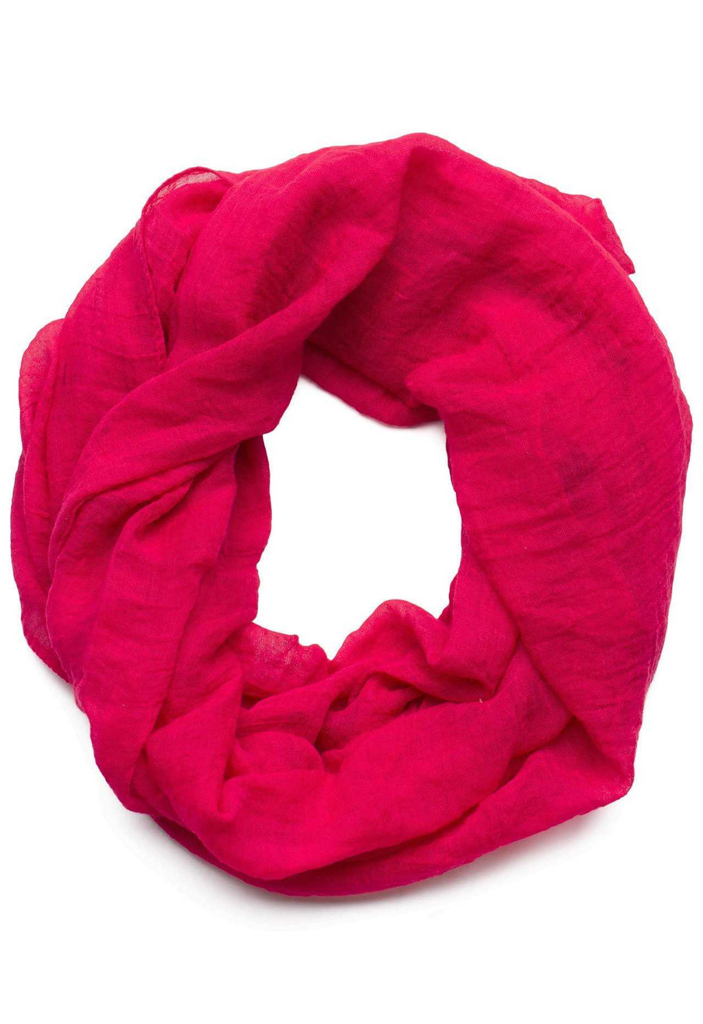 Accessories - Daphne Infinity Scarf In Fuchsia