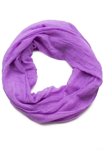 Accessories - Daphne Infinity Scarf In Purple
