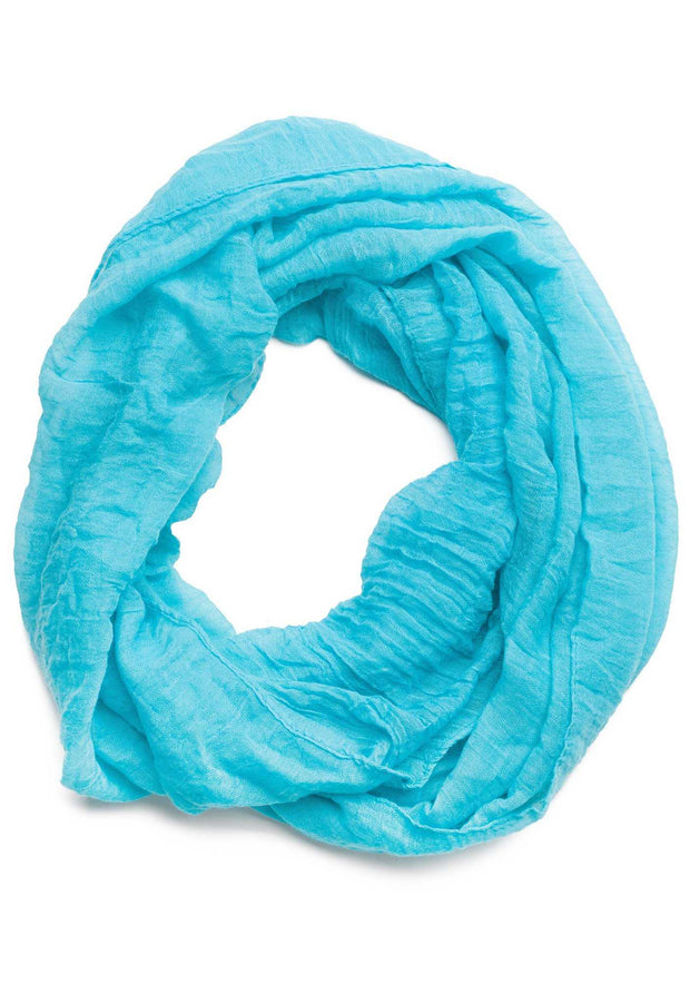 Accessories - Daphne Infinity Scarf In Turquoise
