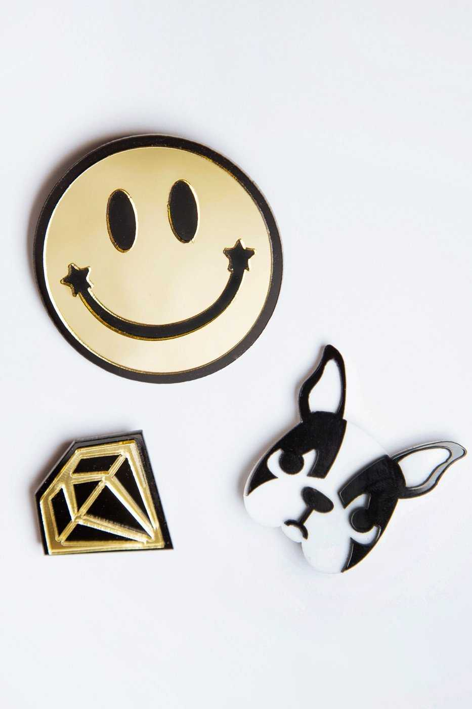 Accessories - Diamond In The Woof Pin Set