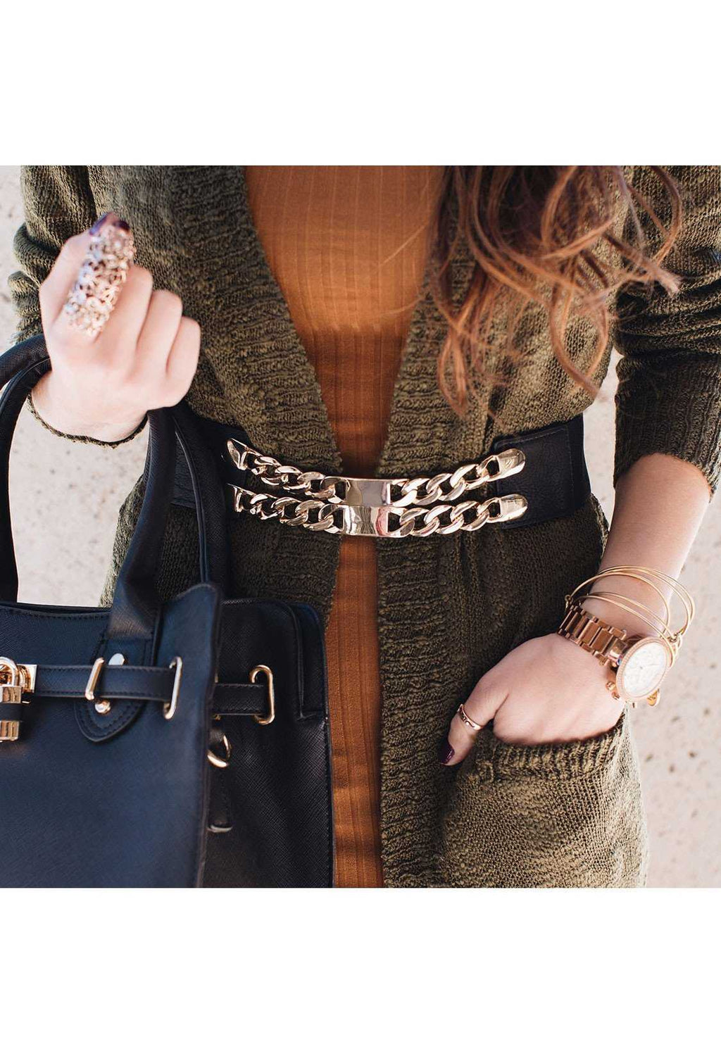 Accessories - Double Trouble Chain Belt