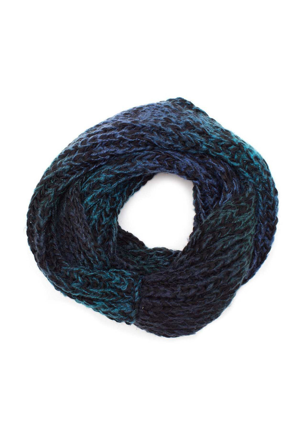 Accessories - Enchanted Embrace Knit Scarf - Black