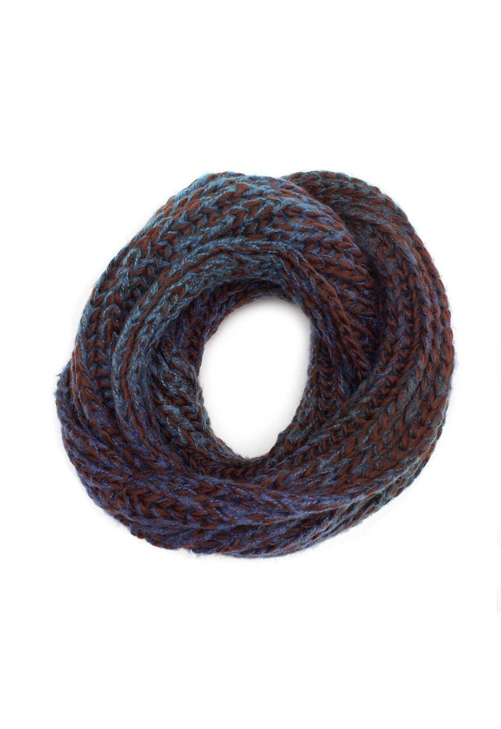 Accessories - Enchanted Embrace Knit Scarf - Brown