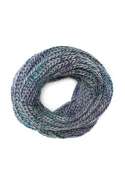 Accessories - Enchanted Embrace Knit Scarf - Grey