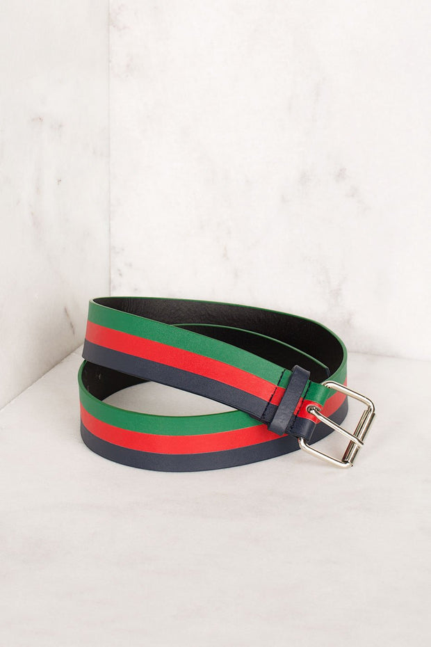 Multiple Colorband Vegan Belt