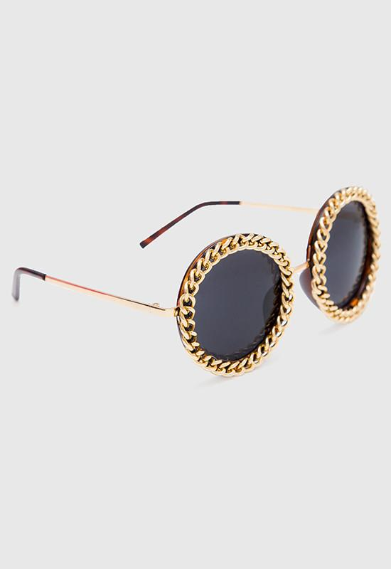 Accessories - Foxi Chain Sunglasses