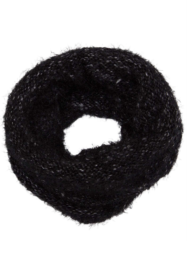 Accessories - Harlet Tube Scarf - Black