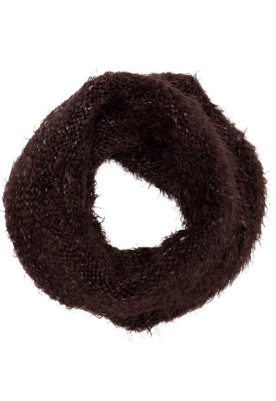 Accessories - Harlet Tube Scarf - Chocolate