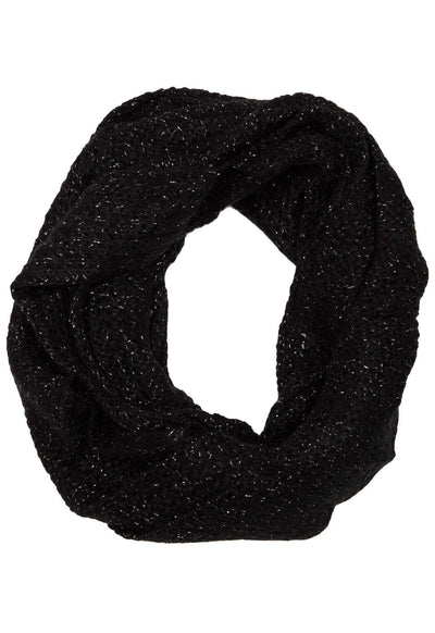 Accessories - Iris Infinity Scarf - Black