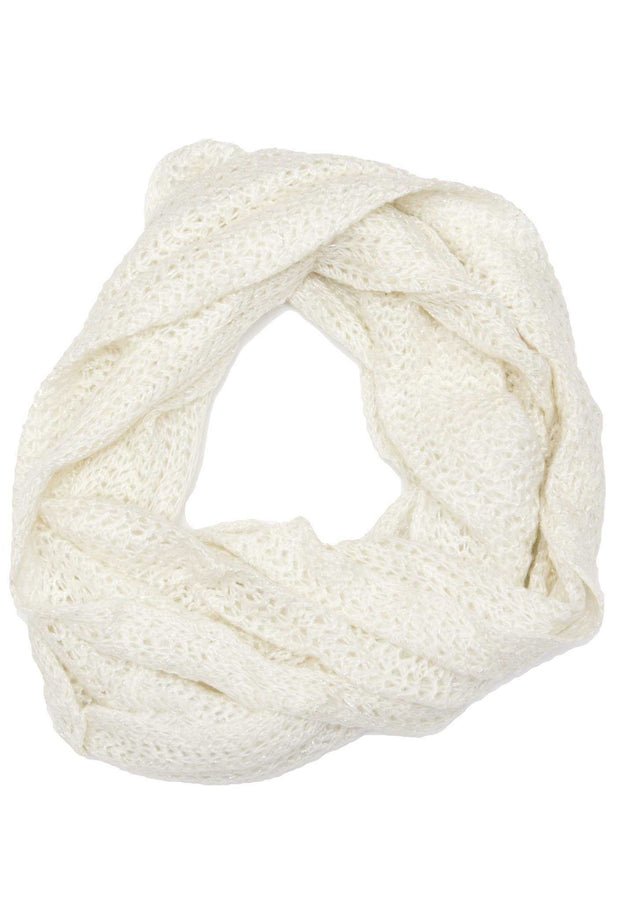 Accessories - Iris Infinity Scarf - Ivory