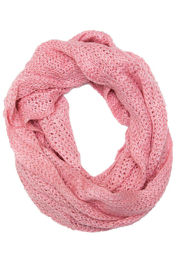 Accessories - Iris Infinity Scarf - Rose