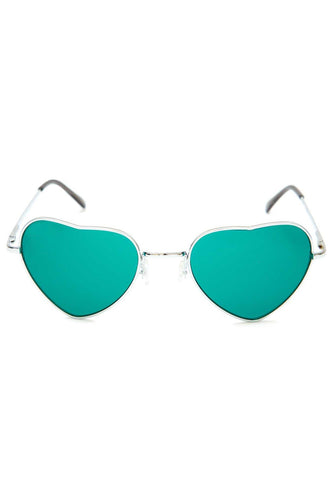 Rin Round Sunglasses - Green