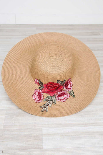 Accessories - Love Blooms Sunhat - Pink