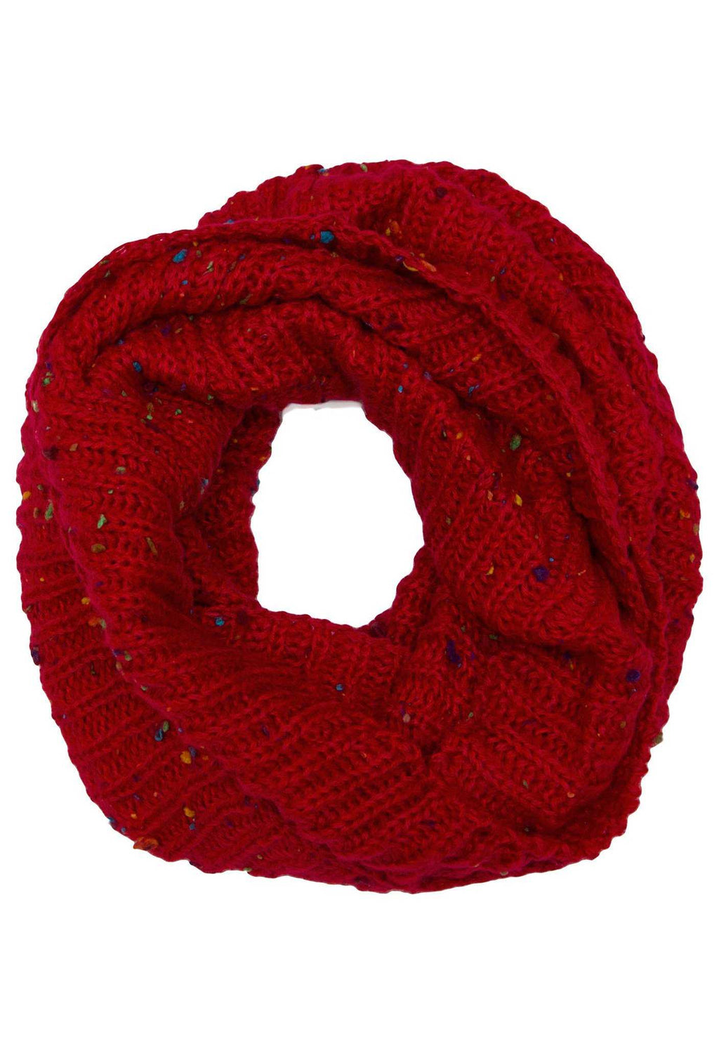 Accessories - Magnolia Infinity Scarf - Burgundy